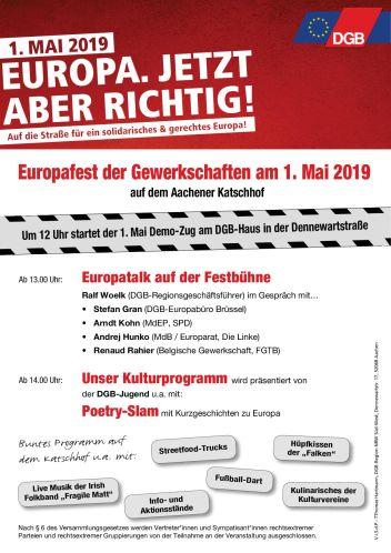 1. Mai 2019 Aachen