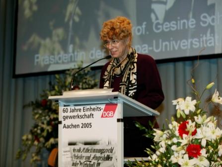 Rede Prof. Dr.  Gesine Schwan