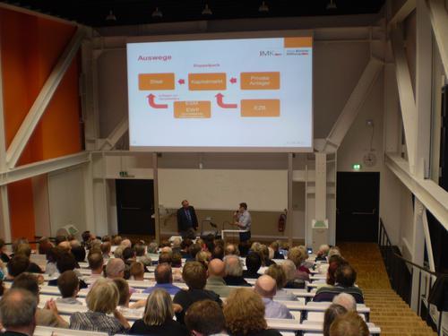 Prof. Dr. Horn und Ralf Woelk