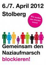 Stolberg blockieren Plakat