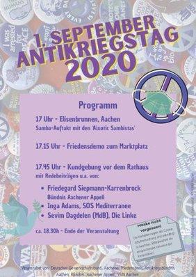 Antikriegstag 2020