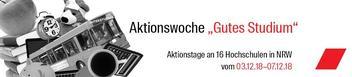 Aktion für bessere Studienbedingungen in Aachen