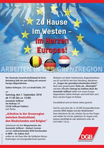 Zu Hause im Westen - im Herzen Europas