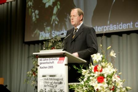 Rede Ministerpräsident NRW,Peer Steinbrück