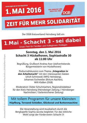 1. Mai in Heinsberg