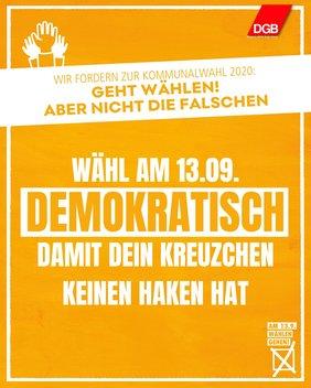 Rechte Hetze_Wahl