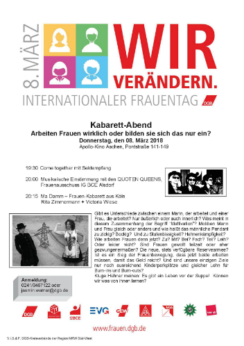 Int. Frauentag 2018