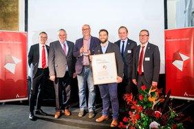 Preisübergabe Heinsberger Initiative für Gute Arbeit und Mitbestimmung