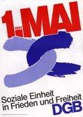 Text: Soziale Einheit in Frieden und Freiheit.